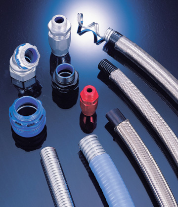 Electric Flexible Conduit & Accessories for cable management