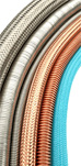 Whole range of flexible conduits,hoses for your machineries.