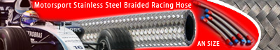 Motorsport Stainless Steel Braided Racing Hose